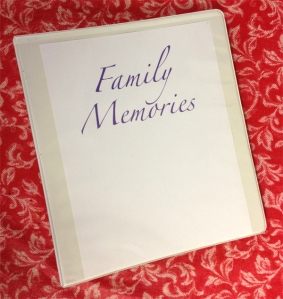 FOTO Family Memories Binder - cropped